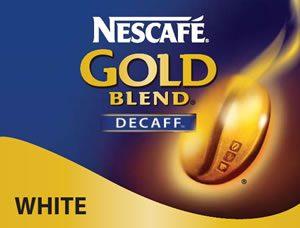 Nescafe' Gold Blend Decaffeinated White Vending
